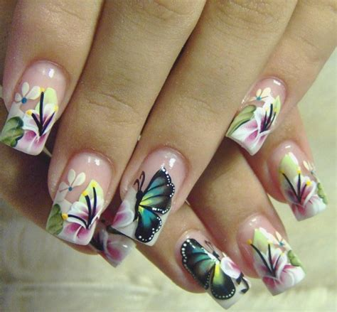easy nail art butterfly 16 butterfly nail designs