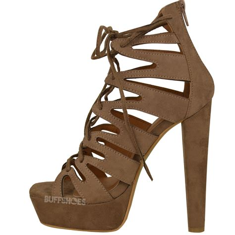 gladiator shoes new womens high heel platform gladiator sandals