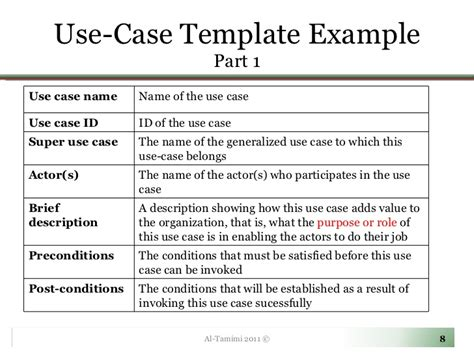 use cases exles template lecture05