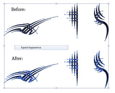 tribal pattern maker illustrator cs5 variable width stroke tool perfect for
