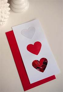 how to make a valentines card make diy day s cards using recycled magazines