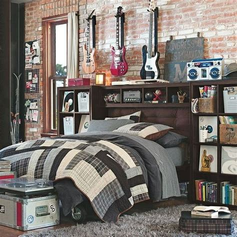 awesome teenage bedrooms 30 awesome teenage boy bedroom ideas designbump