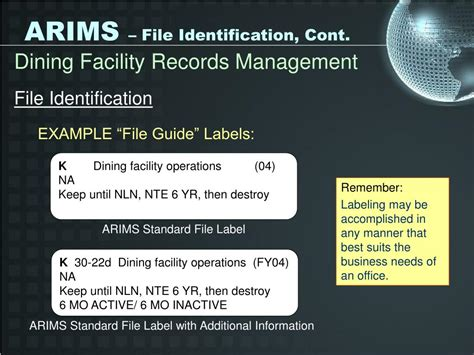 arims labels for supply room ppt arims powerpoint presentation id 252089