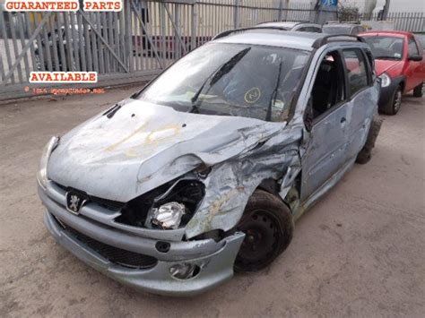 Spare Part Peugeot 206 Peugeot 206 Sw Breakers Peugeot 206 Sw Spare Car Parts