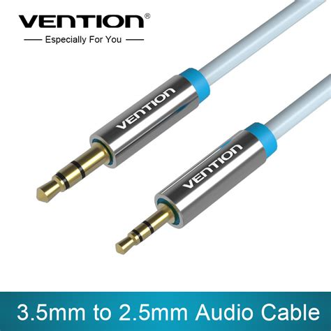 R06 2m Blue Vention Kabel Aux Audio 2 X Rca To popular 2 5mm headphone cable buy cheap 2 5mm headphone cable lots from china 2 5mm headphone
