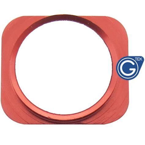 iphone 5 white home button with chrome ring iphone