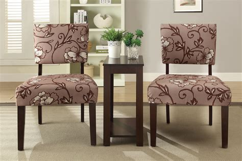 Accent Chair And Table Set 3 Accent Chairs And Side Table Set B Kendrys Furniture