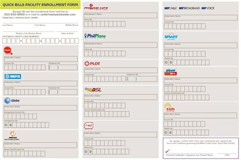EastWest Bank   EastWest Bank Credit Card   Quick Bills