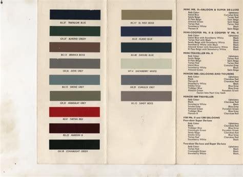 xk120 paint colors morris minor colours search wish list