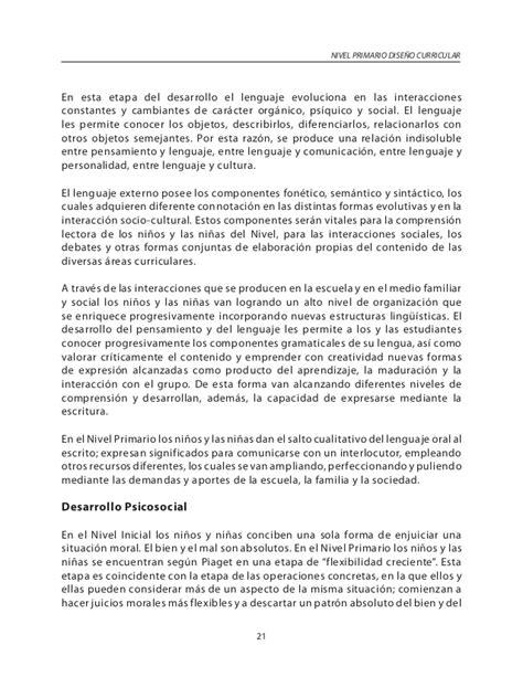 Diseño Curricular Dominicano Nivel Primario Curriculo Nivel Primario Dominicano 2016