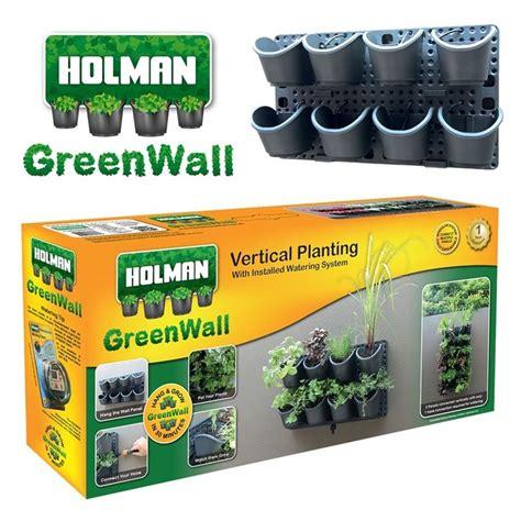 holman greenwall vertical garden kit bunnings warehouse