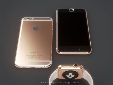 6s look a like here s what a gold iphone 6s would look like images