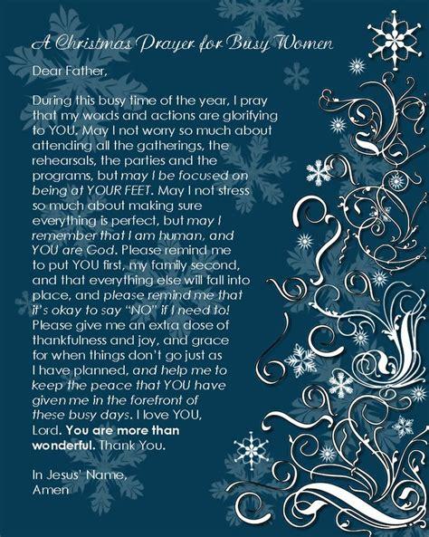 prayer  busy women  printable christmas prayer christmas quotes christmas wishes