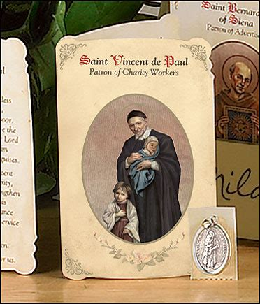 Patron Of Plumbing by Patron Saints Of Professions Card Medal Sets