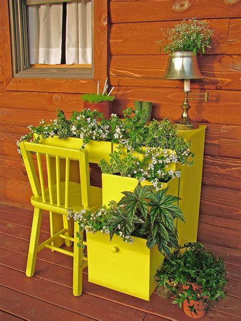 creative containers for gardening 11 creative container gardening ideas desk