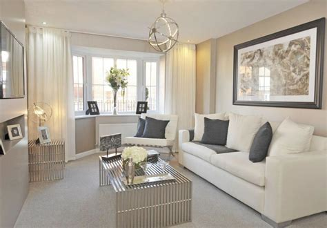 cream living room ideas barratt homes somerton at glenfield park kirby road