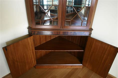 Corner Cabinet Dining Room Hutch Corner China Cabinet Or Corner Hutch For The Dining Room Ebay
