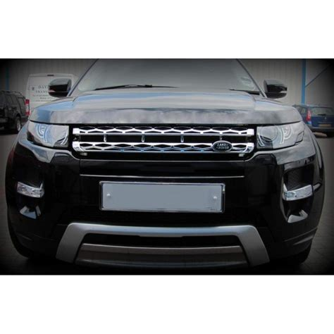 chrome land rover calandre chrome pour range rover evoque calandre look