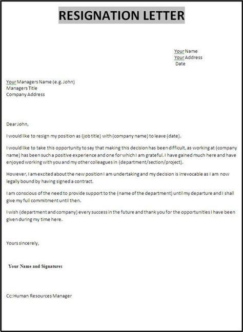 resignation letter example dolap magnetband co