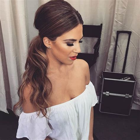 dressy ponytail hairstyles 25 elegant ponytail hairstyles for special occasions