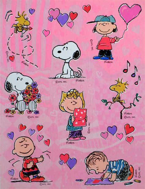 peanuts valentines peanuts s day stickers snoopn4pnuts