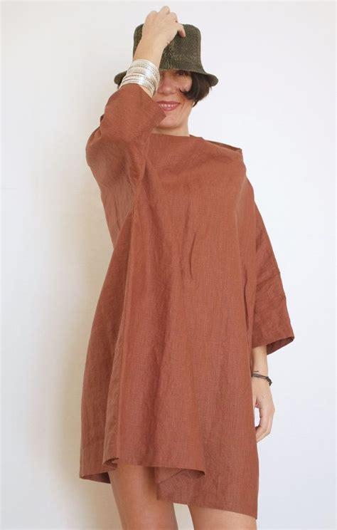 Blouse Saku Jumbo Linen plus size linen tunic oversized tunic linen dress linen kaftan top linen blouse