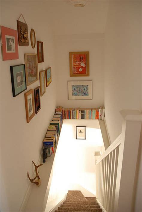 staircase bookshelves 22 cool ways to fill your stairs with bookshelves home