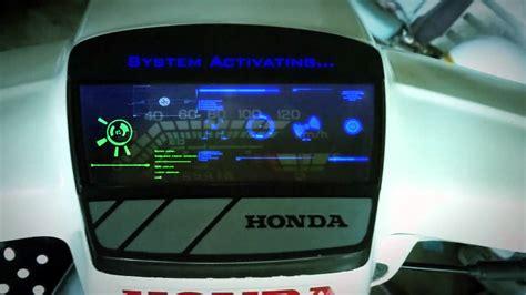 Meter Digital Honda Ex5 Felonz Studios Hud Test On Honda Ex5