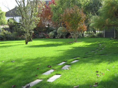 revetement allee jardin