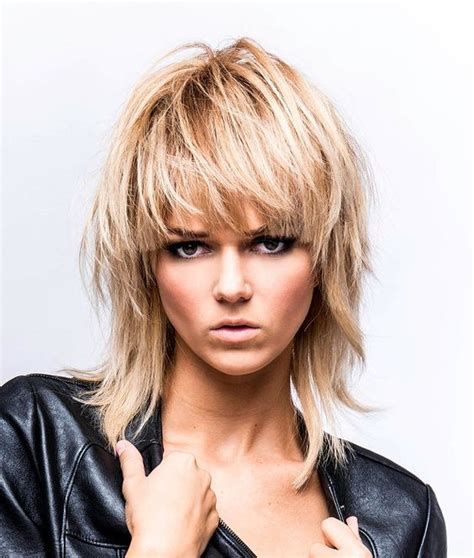 rocker shags rocker shag hair and beauty pinterest rockers