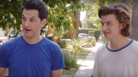 ben schwartz joe keery commercial our favorite parks and rec and stranger things