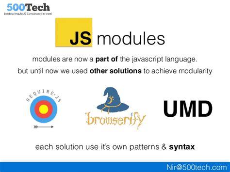 javascript umd pattern up running with ecmascript6