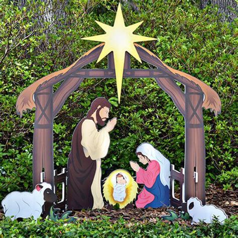 large outdoor nativity clearance yard nativity sets yard nativity yard nativity set