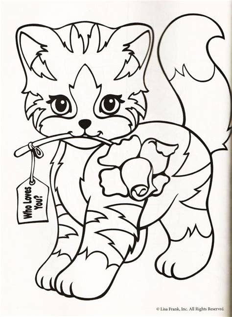 coloring pages of lisa frank animals lisa frank printable coloring pages