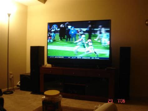 how big of tv for room big tv in room picture of hton inn cleveland downtown cleveland tripadvisor
