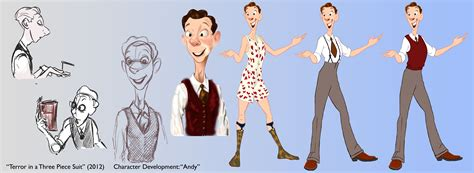 Or Characters Character Designs Arielgoldbergdotcom