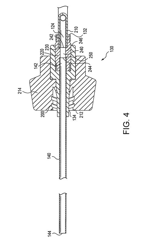 supply section patent us8361032 curable material delivery device with a