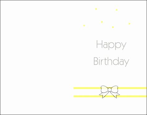four greeting card template for use with pages 10 printable birthday card template sletemplatess