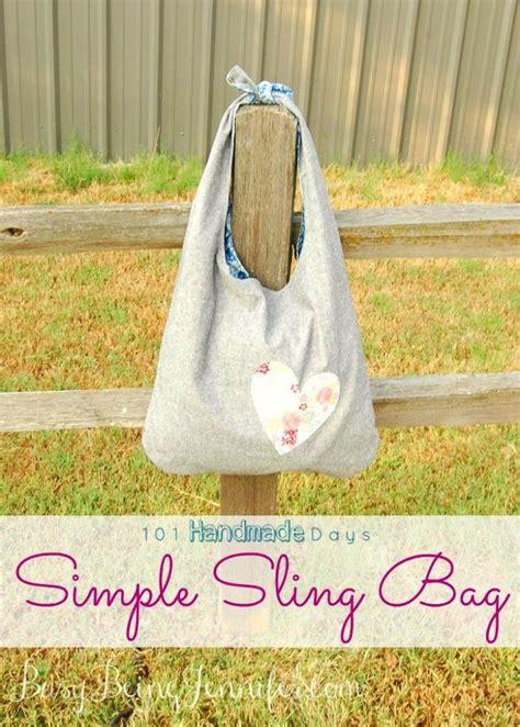 Simple Sling Bag Zigzag 101 handmade days simple sling bag busy being bags and handmade