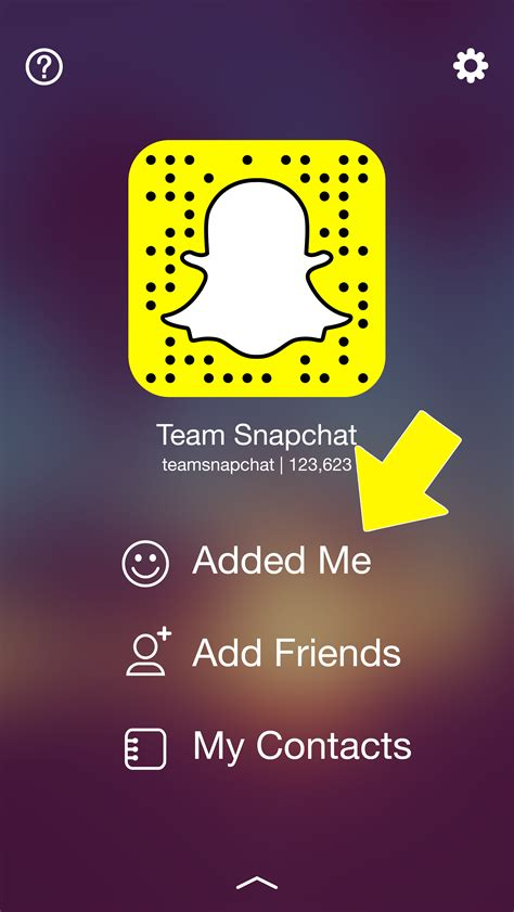 How Can You Find On Snapchat Here You Can Add A Friend That Added You By Tapping On The Quot Quot Icon Next To Their
