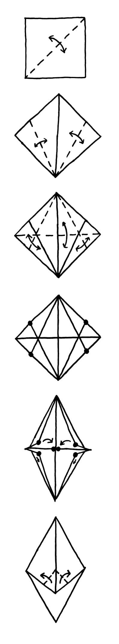 Origami Parrot Tutorial - origami parrot tutorial p 1 by rhiallom on deviantart