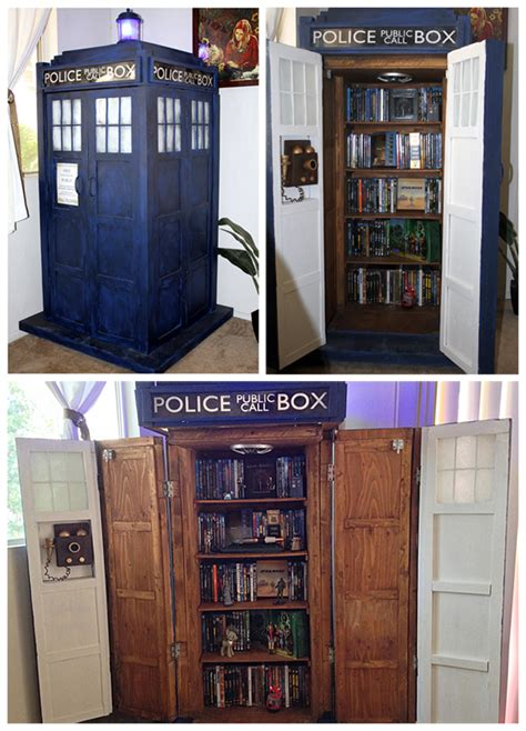 woodwork plans tardis bookshelf pdf plans