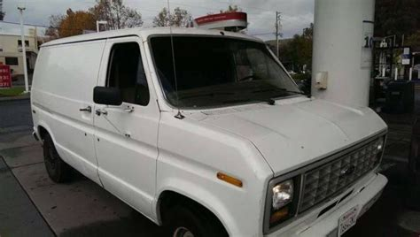 how cars engines work 1984 ford e250 auto manual 1989 ford econoline e 150 cargo van short wheelbase needs engine work classic ford e series