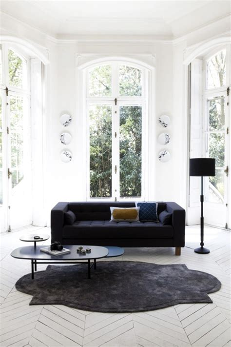 Minimal Minimal Basic Offwhite a pinboard in particular the elusive black sofa