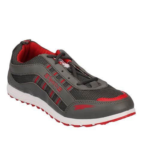 lakhani sports gray rubber sport shoes price in india buy