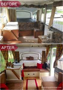 Diy Hard Floor Camper Trailer Plans megan s pop up camper makeover the pop up princess