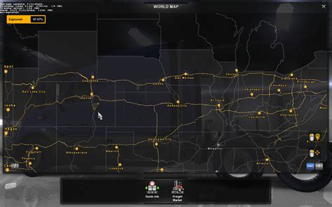 Coast One 1 maps american truck simulator mods