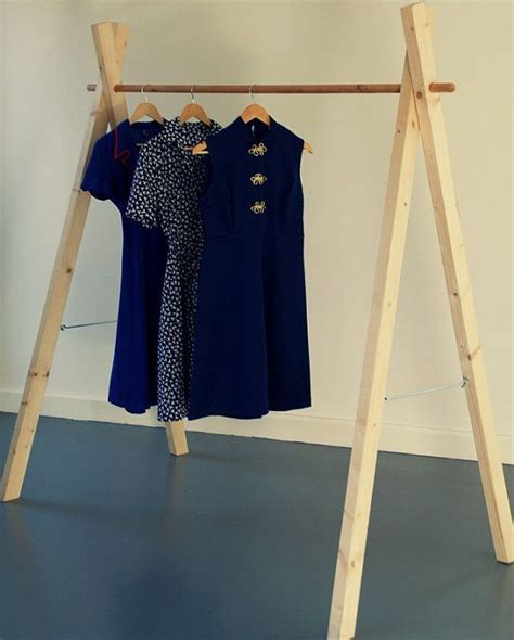 How To Build A Clothes Rack With Wood by Best 20 Wooden Clothes Rack Ideas On
