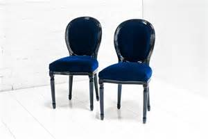 Dining Room Sets With Fabric Chairs Www Roomservicestore Com Louis Dining Chair In Navy And