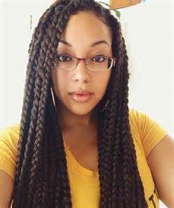 jumbo braids hairstyles pictures jumbo box braids on pinterest jumbo braids poetic